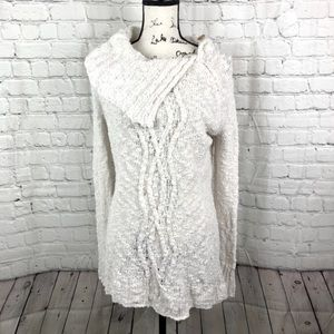 Moth for Anthropologie Cowl Neck Sweater XS